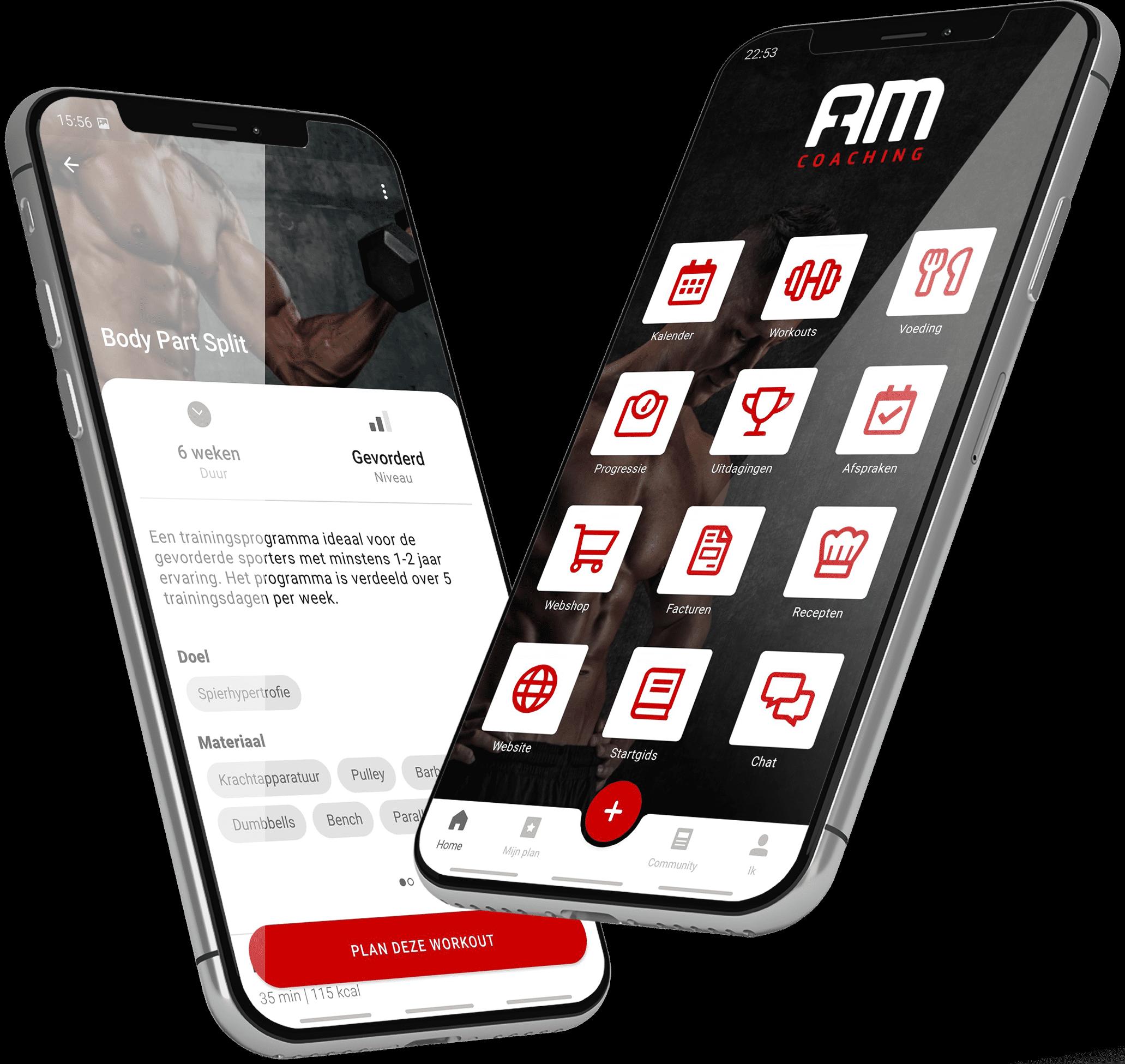 AM Coaching app
